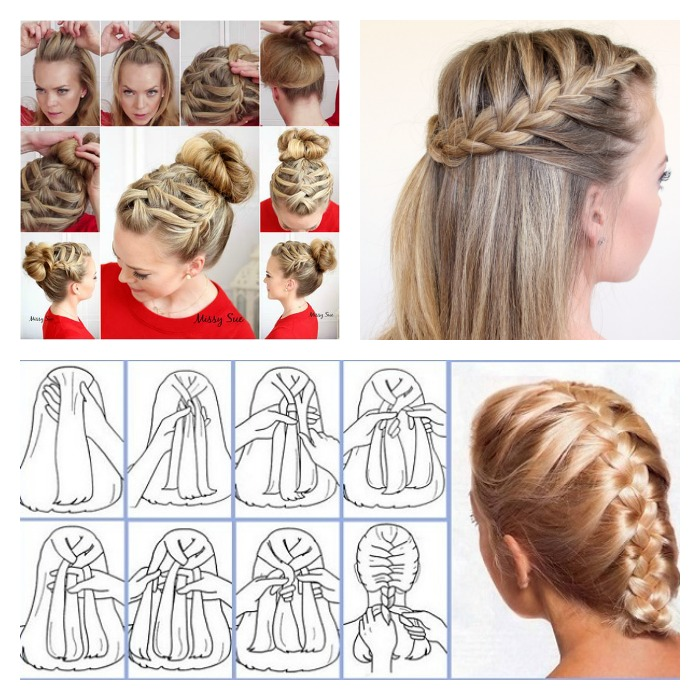 10 Stylish French Braid Hairstyle Tutorials - FashionShala