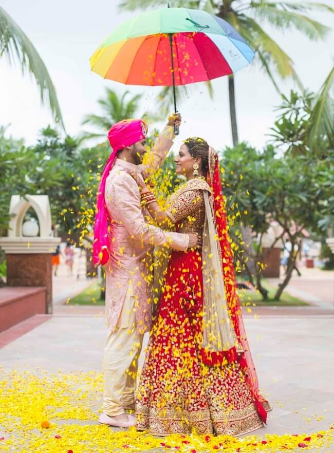 when two people decide to be each other soulmates for life with an alluring indian wedding it leads to this slaying shot by