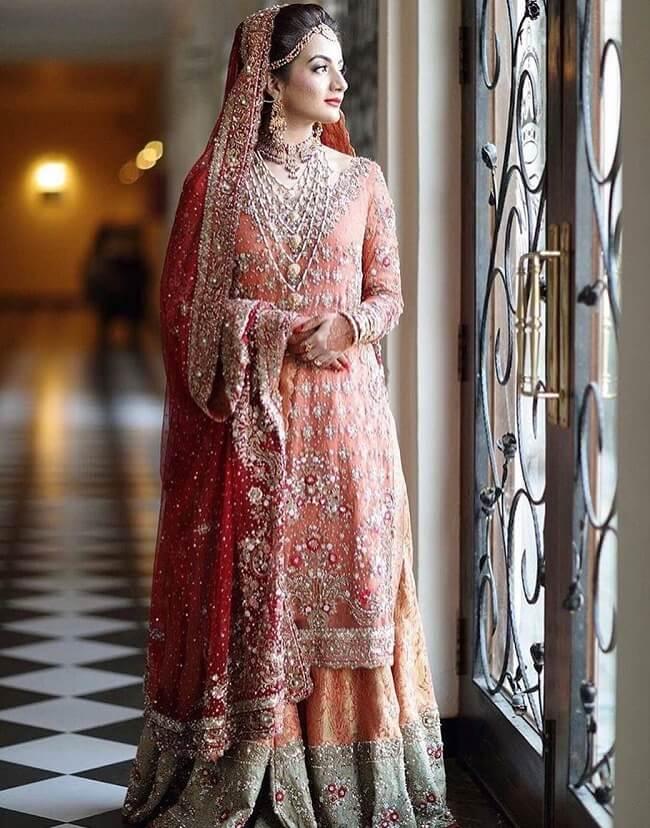 Latest Pakistani Bridal Lehenga Designs Fashionshala