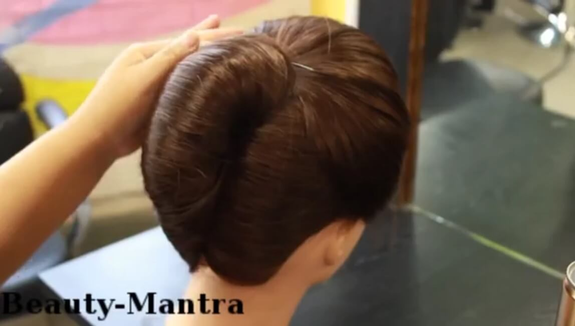 How To Make French Roll Hairstyle Step By Step Tutorial